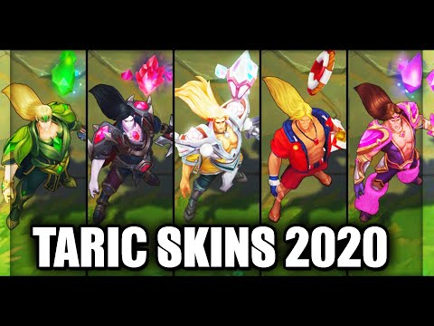 All Taric Skins Spotlight 2020 (League of Legends)