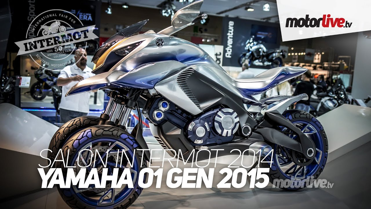 new 2015 salon intermot yamaha 01 gen le t max 3 roues youtube. Black Bedroom Furniture Sets. Home Design Ideas