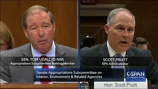 Word for Word: EPA Administrator Pruitt Testifies on Budget & Ethics Allegations (C-SPAN)