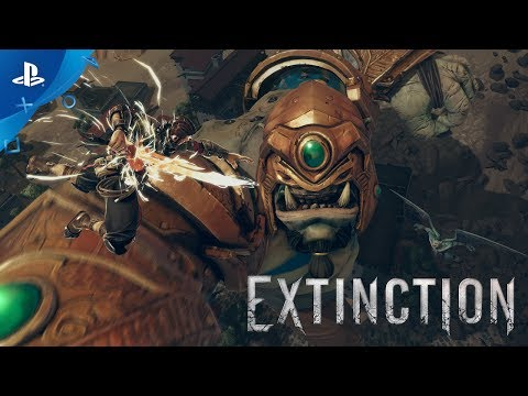 Extinction - PS4 Gameplay Walkthrough Trailer | E3 2017