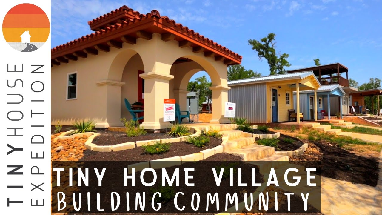 Remarkable Tiny Home Village for Formerly Homeless in Austin