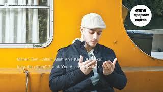 ALLAHI ALLAH Kiya Karo || Karaoke || Maher Zain || Track || Instrumental || Lyrics || Irfan Makki HD