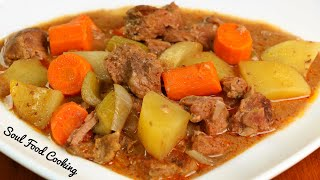How to make Beef Stew - Slow Cooker Beef Stew Recipe