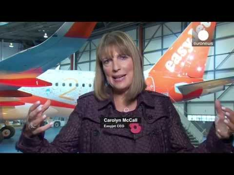 """EasyJet's CEO Carolyn McCall: """"We never compromise on safety or security"""""""