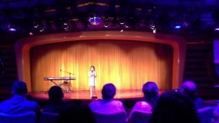 Mia Sinclair Jenness sings