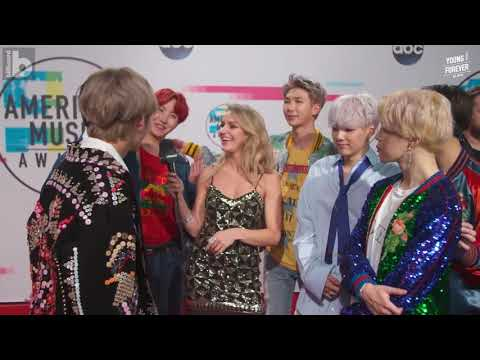 [VIETSUB] BTS After Their First U S  Television Debut for The 2017 American Music Awards