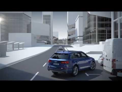 Audi Q7 Driver Assistance Systems | Rear Cross Traffic Assist