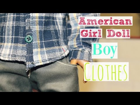American Girl Doll Boy Clothes || Sewing + Etsy Shops