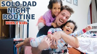 Solo Dad Night Time Routine! Mom left Us!!