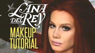 Repeat youtube video Lana Del Rey Drag Queen Makeup Tutorial
