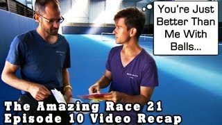 THE AMAZING RACE 21: Episode 10 Comedic Video Recap