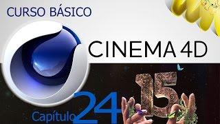 Cinema 4D R15, Tutorial primitivas spline matematicas, Curso basico en español, cap 24