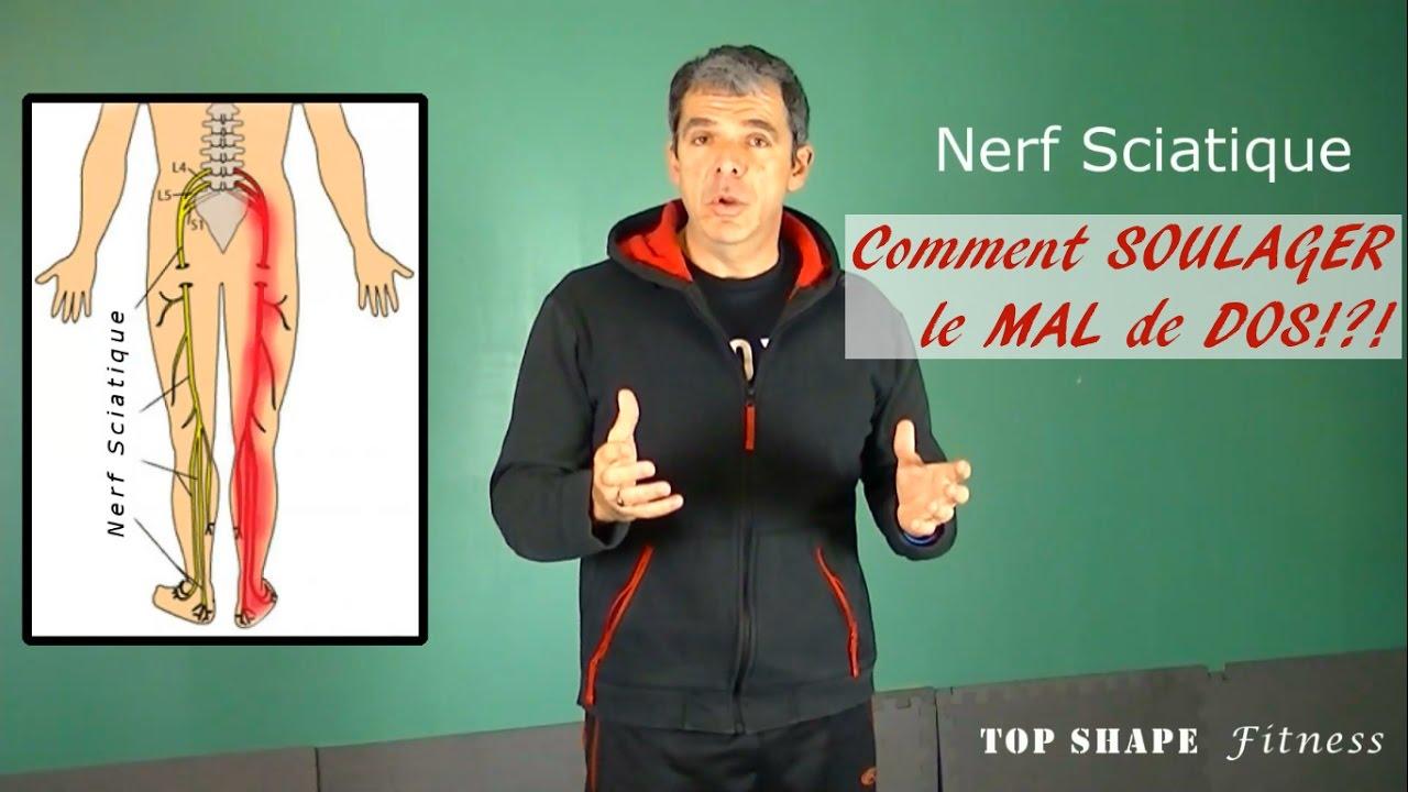 nerf sciatique exercices  comment soulager le mal de dos et  u00e9liminer douleur au dos rapidement