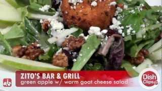 Zito's Bar & Grill - Green Apple With Warm Goat Cheese Salad