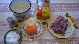 Гречневая каша на мясном бульоне с фаршем  Рецепт как приготовить гречку