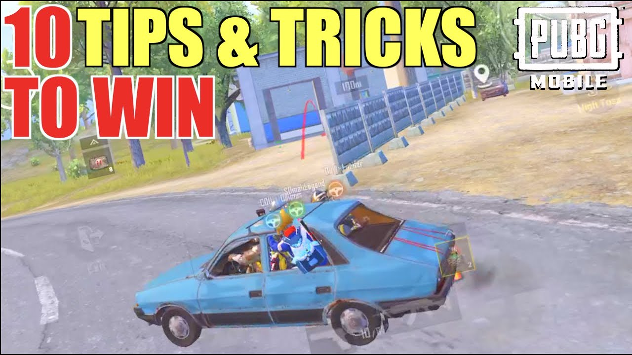10 Game Winning Tips & Tricks For Pubg Mobile 2021