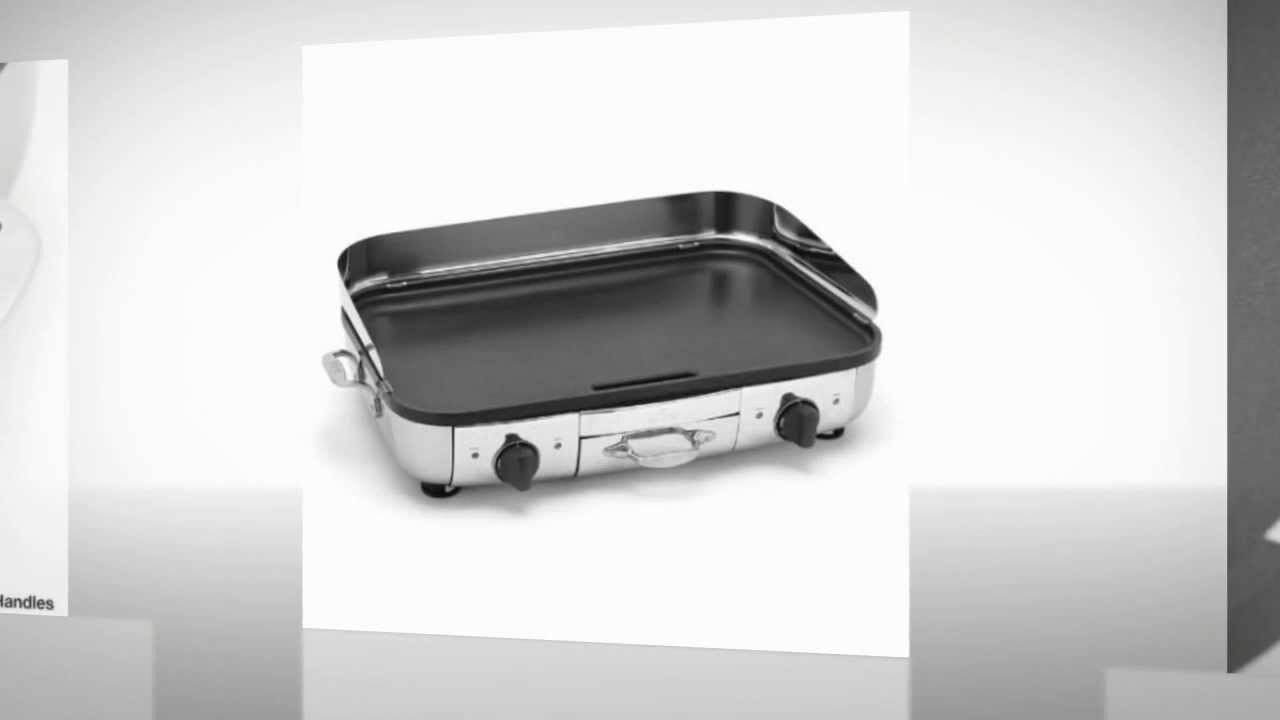 All Clad Electric Griddle Reviews Youtube