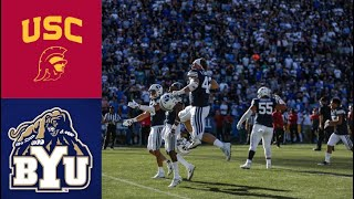 #24 USC vs BYU Highlights (F/OT) | NCAAF Week 3 | College Football Highlights