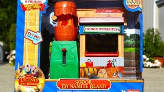 Thomas Wooden Railway - SODOR DYNAMITE BLAST - 2015 Toy Train Legend Of The Lost Treasure