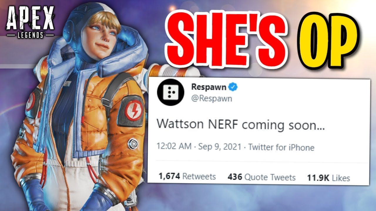 THIS Is The Most OVERPOWERED LEGEND In Apex Legends (apparently)...