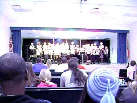 Pandora's Dunedin Elementary School Chorus concert December 16th 2010 part 2