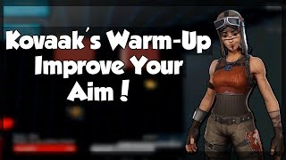 Kovaak's Warm-Up For Improving Your Fortnite Aim | 30 Minute Kovaak's Aim Trainer Warm-Up | Filtrrz
