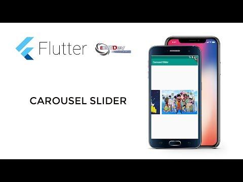 Flutter Tutorial - Carousel Slider - YouTube