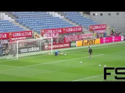 Goalkeeper Pre-Match Warm-up Germany 2015