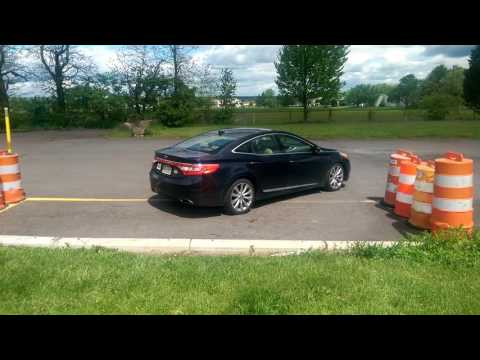 Parallel Parking test at Dublin, Pennsylvania