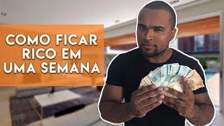 MÉTODO INFALÍVEL PRA FICAR RICO EM 7 DIAS |TIAGO FONSECA