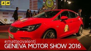 Auto dell'anno 2016: vince la Opel Astra | Ginevra 2016