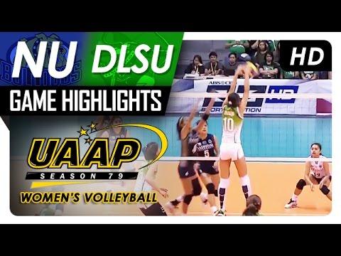 NU vs DLSU | Game Highlights | UAAP 79 WV | March 12, 2017