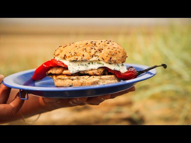 Genevieve Taylor - Herby Chicken Burgers