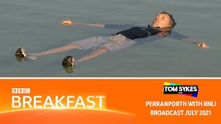 'Float To Live' with the RNLI - BBC Breakfast