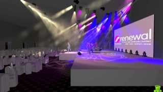 Hotel Ballroom Stage Lighting Design