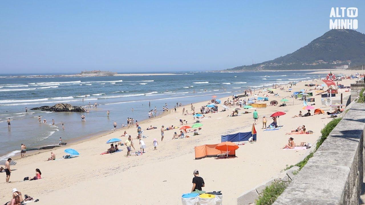 Época balnear abre em Caminha com hastear da bandeira azul   Altominho TV