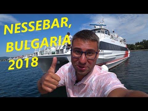 НЕСЕБР. СКОРОСТНОЙ КАТЕР. БОЛГАРИЯ 2018. TRAVEL IN NESSEBAR, BULGARIA / Hi Glebov