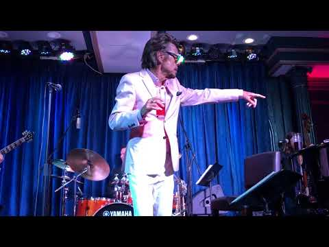 Buster Poindexter,My Fathers Place, Roslyn, NY 6/29/2018, Mess Around