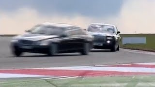Video vault: Rolls-Royce Phantom vs Maybach 62... on-track (2008)