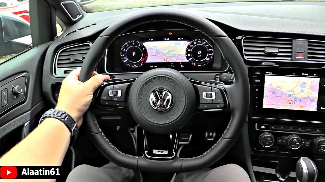 2019 Volkswagen Golf R Akrapovic Interior Youtube