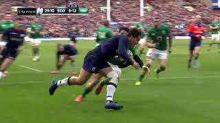 Scotland vs Ireland 13-22 | Rugby Six Nations Highlights 2019