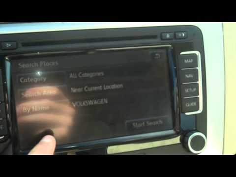 How to use your Volkswagen's navigation system