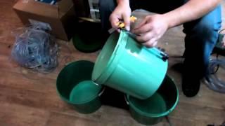 GrowPot Quatro своими руками. Аквапод кватро своими руками.(В данном видео мы покажем, как собрать гидропонную систему своими руками, можно купить систему в сборе,..., 2015-11-03T12:25:21.000Z)