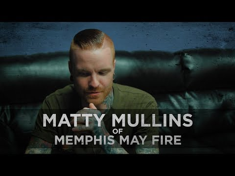 """I Wanted To Be Happy Again"" -- Matty Mullins of Memphis May Fire"