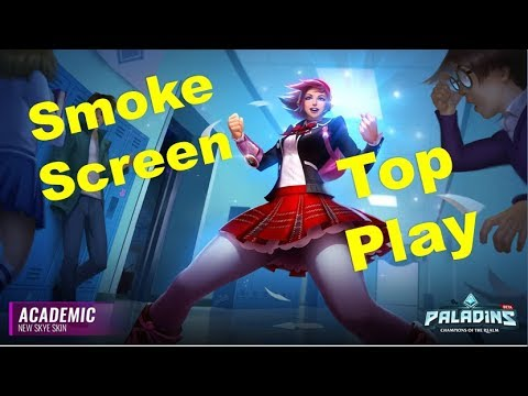 Paladins Patch OB 68 - Academic Skye Skin Smoke Screen Top Play