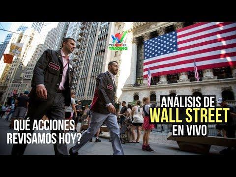 Análisis de Wall Street EN VIVO, Mayo 18/2018
