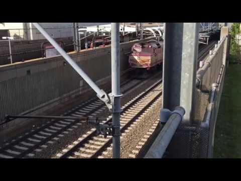 Commuter Rail Montage -- MBTA