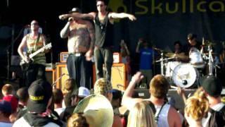 Big B: Sinner feat. Scott Russo of Unwritten Law @ Warped Tour 2011 Ventura, CA.