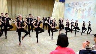 ОСНОВНЫЕ ДВИЖЕНИЯ УКРАИНСКОГО ТАНЦА на открытом занятии в Народном ансамбле танца РАДОСТЬ, г. Дн-вск