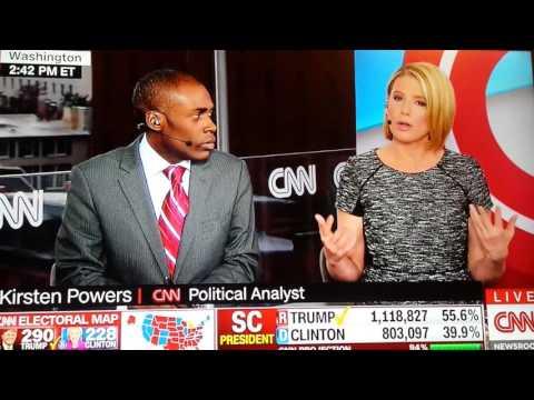 African-American CNN Analyst goes off on CNN cause CNN still pushing propaganda about Trump